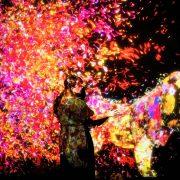 【5組10名様を内覧会へご招待】チームラボ★学ぶ!未来の遊園地と、花と共に生きる動物達