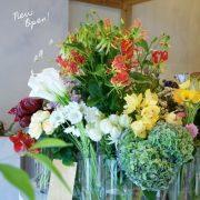 愛知・岐阜で愛される花屋「ace florist」の名古屋店が清水駅すぐにオープン。自分だけの1輪と出逢える場